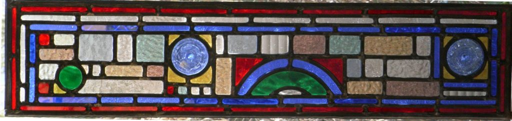 Contemporary Stained Glass Design inspired by a victorian theme