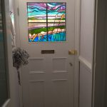 Fen Design leaded Stained Glass window in situ